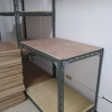 SLOTTED ANGLE RACK (PLYWOOD)